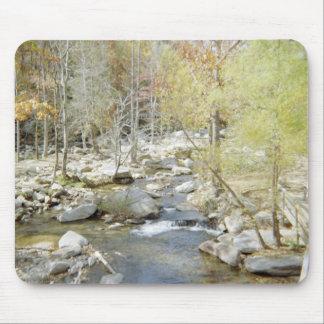 Serene Chimney Rock Creek Mousepad