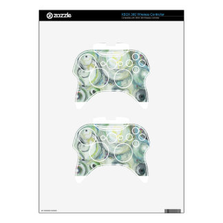 Serene Circles abstract expressionism Xbox 360 Controller Skin