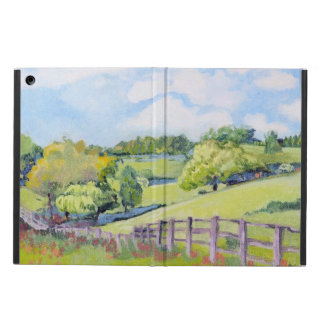 Serene Country Meadows Green Case For iPad Air