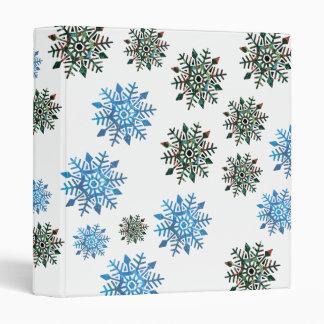 Serene & Dark Snowflakes Binder