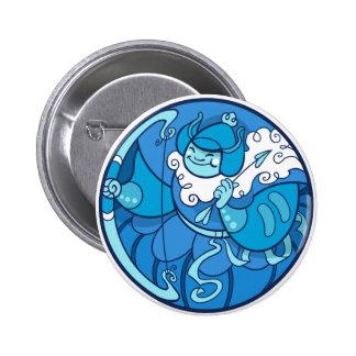 Serene Design Samurai Button