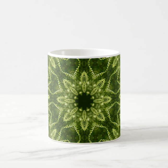 Serene Green Coffee Mug