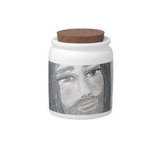 Serene Jesus Candy Dishes