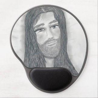 Serene Jesus Gel Mouse Pad