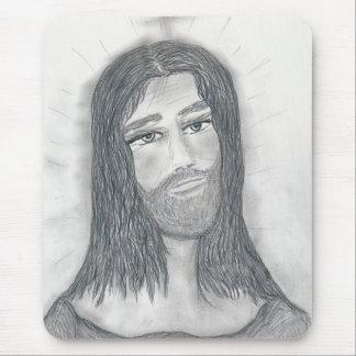 Serene Jesus Mouse Pad