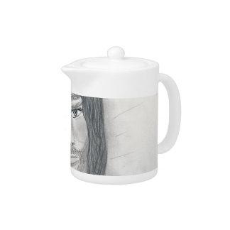Serene Jesus Teapot