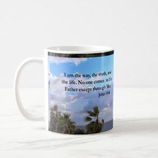 SERENE JOHN 14:6 PHOTO DESIGN COFFEE MUG