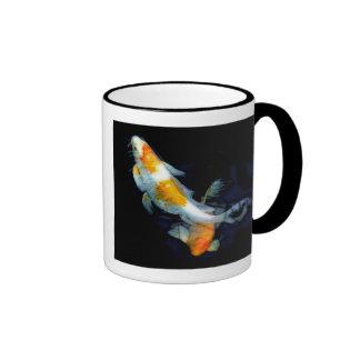 Serene Koi Pair Coffee Mug