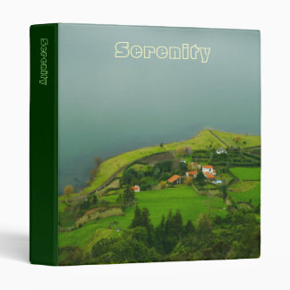 Serene landscape binder