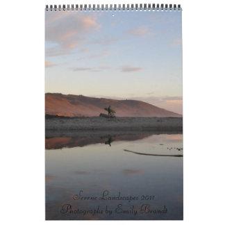 Serene Landscapes 2011 Calendar