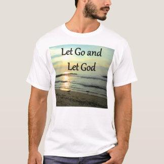 SERENE LET GO AND LET GOD OCEAN PHOTO T-Shirt