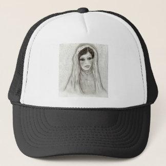 Serene Mary Trucker Hat
