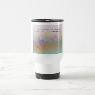 Serene Morning Glories Serenity Prayer Coffee Mugs