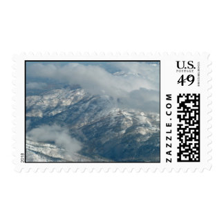 Serene Mountains Stamps