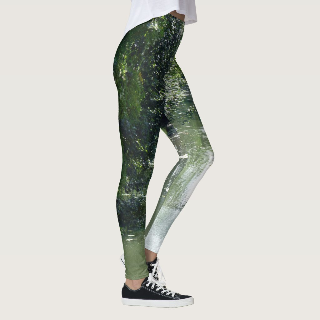 Serene River Flowing Leggings