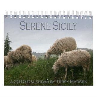 Serene Sicily 2010 Calendar
