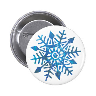 Serene Snowflake Buttons