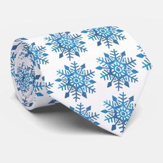 Serene Snowflake Tie