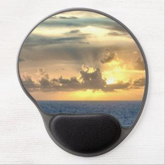 Serene Sunrise Gel Mouse Pad