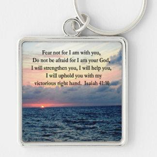 SERENE SUNRISE ISAIAH 41:10 KEYCHAIN