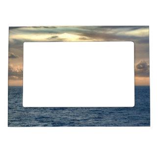 Serene Sunrise Magnetic Photo Frame