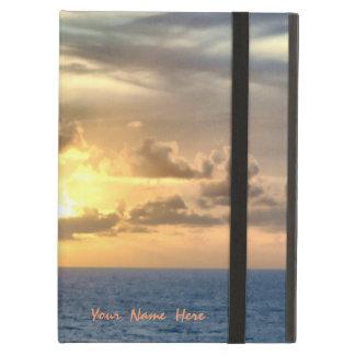 Serene Sunrise Personalized iPad Air Case