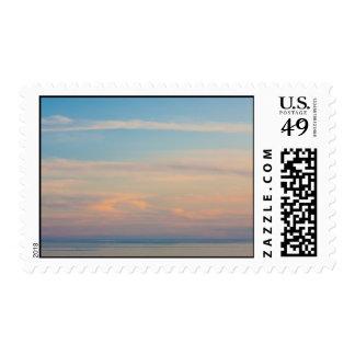 Serene sunset postage