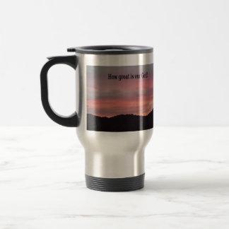 Serene Sunset Traveling Mug