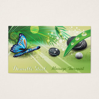 Serene Sunshine  Zen Therapist Business Card