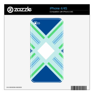 serene symmetry print skin for the iPhone 4S