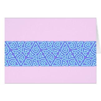 Serene Triangle Knot Band Card