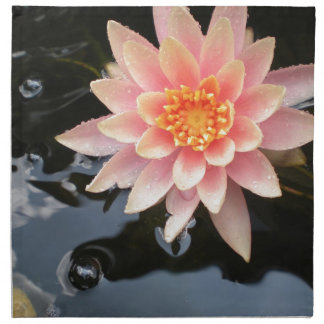 Serene Water Lilly Napkin