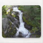 Serene Waterfall Mouse Pads