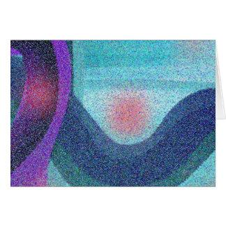 Serene Wave Card