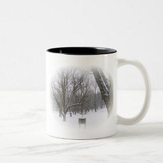 Serene Winter Sleep Coffee Mugs