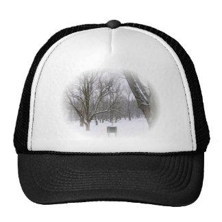Serene Winter Sleep Trucker Hat