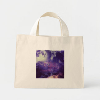 Serenely Spooky photo of Harpers Ferry Tote Bags