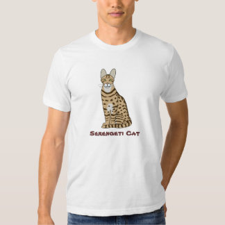 Serengeti Cat Breed Customizable T-Shirt