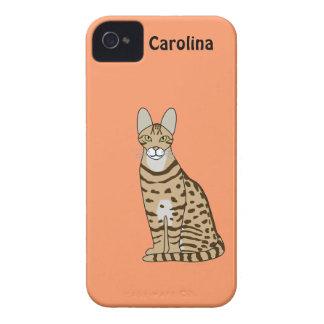 Serengeti Cat Breed Personalized iphone 4g Case Case-Mate iPhone 4 Case