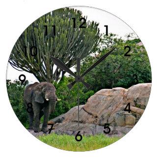 Serengeti Kopje - Tanzania, Africa Clock