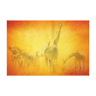 SERENGETI MOODS CANVAS GALLERY WRAPPED CANVAS