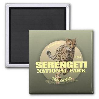 Serengeti National Park (Cheetah) WT Magnet