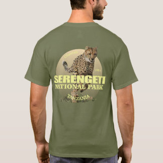 Serengeti National Park (Cheetah) WT T-Shirt
