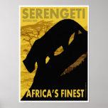 Serengeti poster/print
