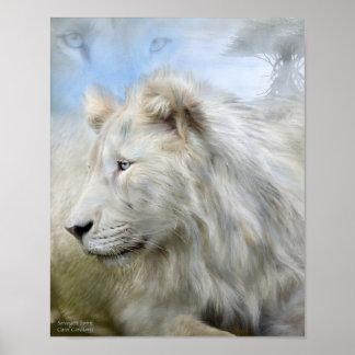 Serengeti Spirit Art Poster/Print Poster