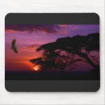 Serengeti Sunset Mouse Mat