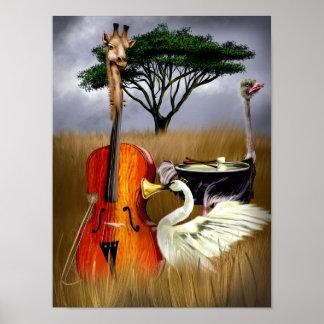Serengeti Symphony Poster