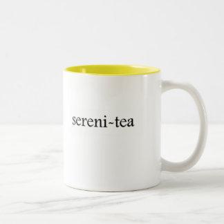 Sereni-tea Tea Cup Two-Tone Coffee Mug