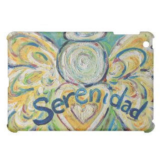 Serenidad Angel  Cover For The iPad Mini