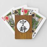 serenidad cartas de juego